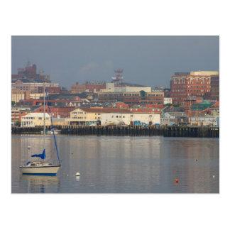 Portland Maine Waterfront Postcard