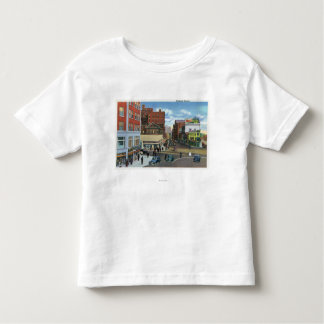Portland, MaineView of Congress Square Toddler T-Shirt