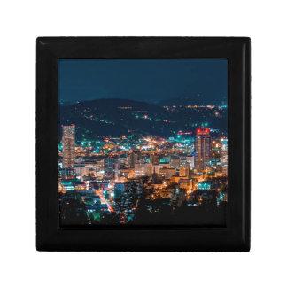 Portland Night Skyline Gift Box
