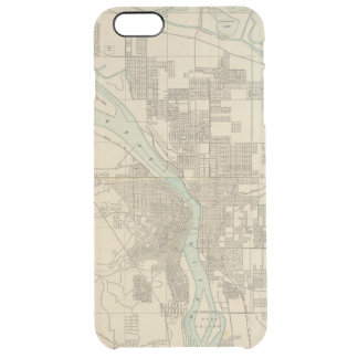 Portland, Or Clear iPhone 6 Plus Case