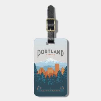 Portland, OR Luggage Tag