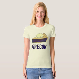Portland OR Oregon Marionberry Berry Pie Slice T-Shirt