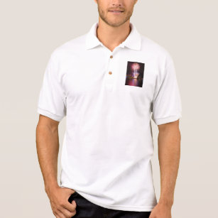 Portland OR waterfront fireworks display Polo Shirt