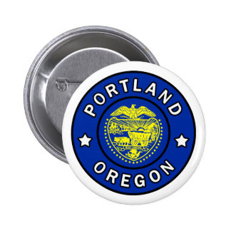 Portland Oregon 6 Cm Round Badge