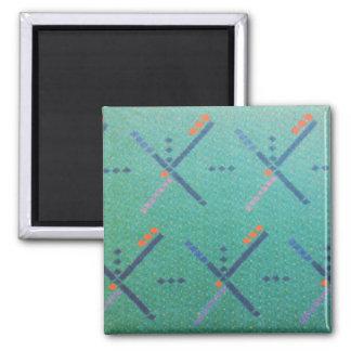 Portland Oregon Airport Carpet Magnet
