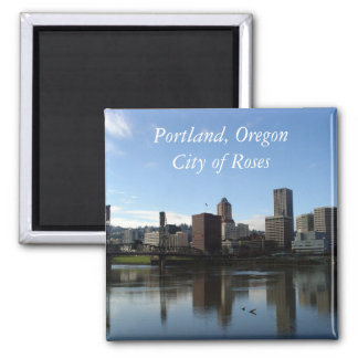Portland Oregon - City of Roses Magnet