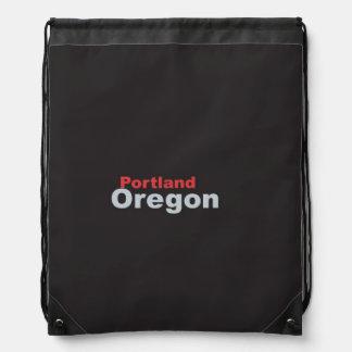 Portland, Oregon Drawstring Backpack