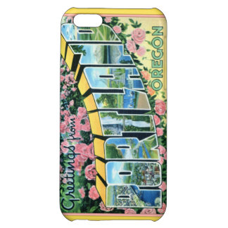 Portland Oregon Large Letter Greetings iPhone 5C Cases