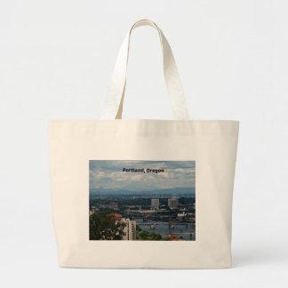 Portland, Oregon Large Tote Bag