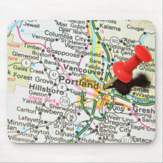 Portland, Oregon Mouse Pad