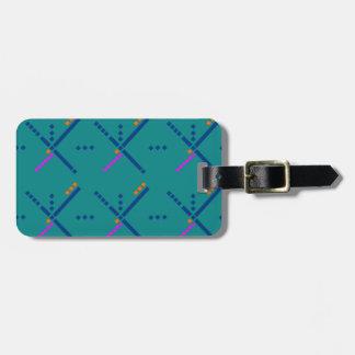 Portland Oregon PDX Airport Carpet Luggage Tag