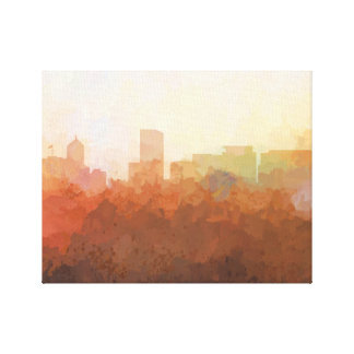 PORTLAND, OREGON SKYLINE-In the Clouds Canvas