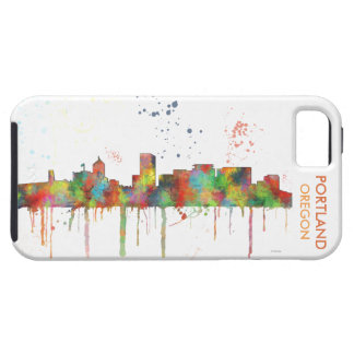 PORTLAND OREGON SKYLINE iPhone 5 CASE