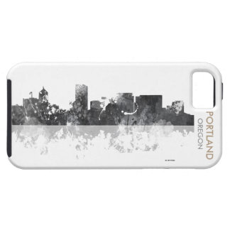PORTLAND OREGON SKYLINE TOUGH iPhone 5 CASE