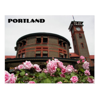 Portland, Oregon Travel Postcard