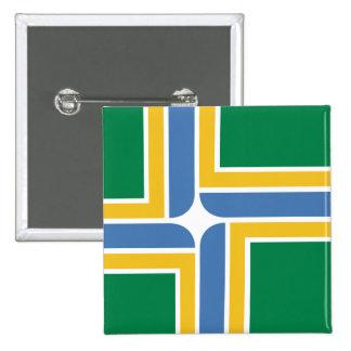 Portland Oregon United States flag Pinback Buttons