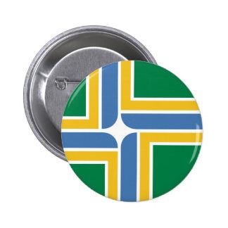 Portland Oregon United States flag Button
