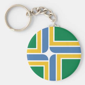 Portland, Oregon, United States flag Key Chains