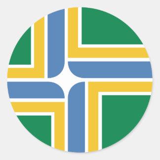 Portland, Oregon, United States flag Sticker
