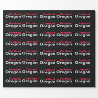 Portland, Oregon Wrapping Paper