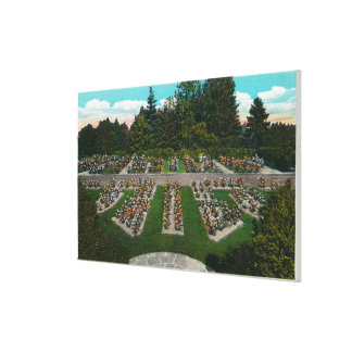 Portland, OregonView of the Rose Test Gardens Canvas Prints