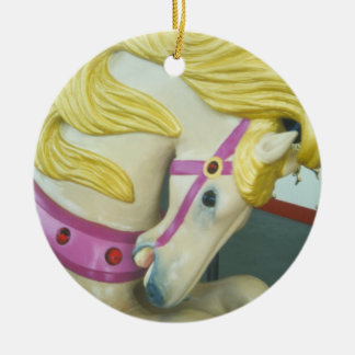 Portland Palomino Ceramic Ornament