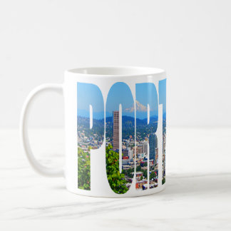 Portland Panoramic Skyline Coffee Mug