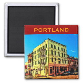 Portland Pearl District Magnet