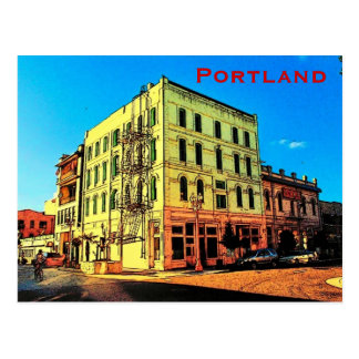 Portland Pearl District Postcard