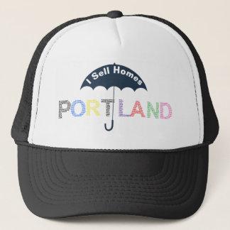Portland Real Estate Homes Black Baseball Cap Hat