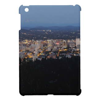 Portland Skyline at Dusk iPad Mini Covers