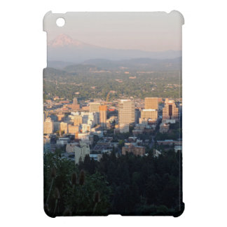 Portland Skyline at Sunset iPad Mini Case