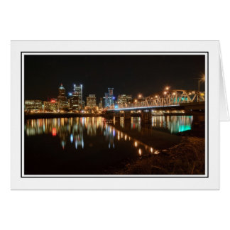 Portland Skyline Card