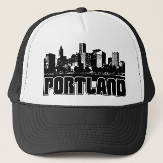 Portland Skyline Trucker Hat