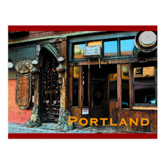 Portland Tavern Postcard