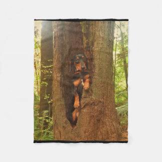 Portland Tree Fleece Blanket