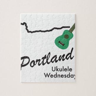 Portland Ukulele Wednesdays Jigsaw Puzzle