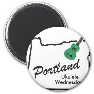 Portland Ukulele Wednesdays Magnet
