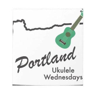 Portland Ukulele Wednesdays Notepad