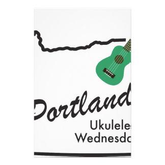 Portland Ukulele Wednesdays Stationery