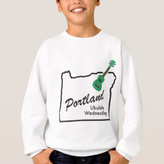 Portland Ukulele Wednesdays Sweatshirt