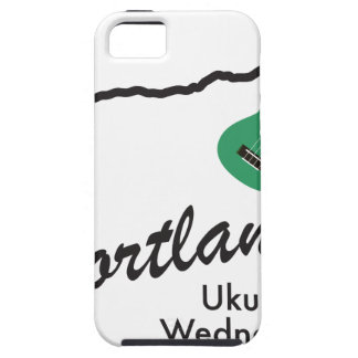 Portland Ukulele Wednesdays Tough iPhone 5 Case
