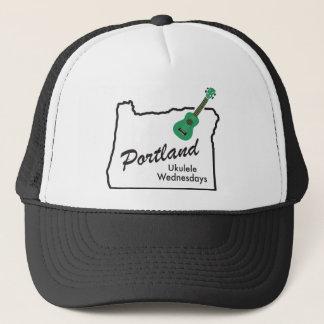 Portland Ukulele Wednesdays Trucker Hat