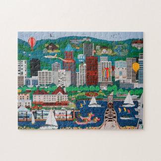 Portland Waterfront Puzzle