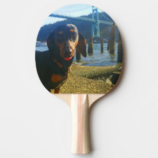 Portland With Love Ping Pong Paddle