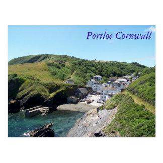 Portloe Cornwall England Postcard