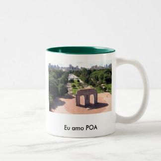 Porto Alegre Two-Tone Coffee Mug