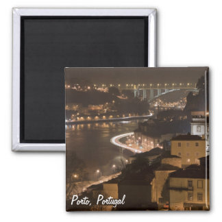 Porto by night Magnet