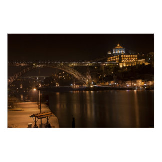Porto by Night Poster