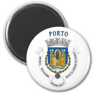 Porto City Coat of Arms Magnet